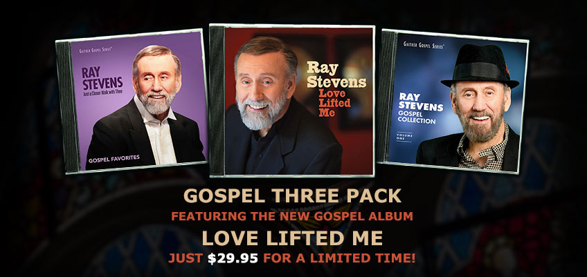Ray Stevens Gospel 3 Pack