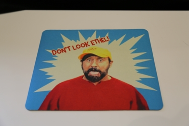 Dont Look Ethel mousepad