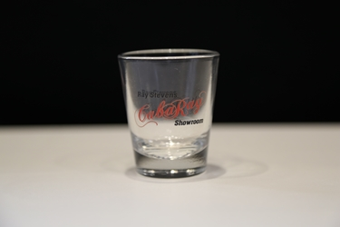 Ray Stevens CabaRay Showroom shot glass