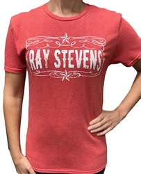 Ray Stevens Red Comedy Tee  Ray Stevens, Comedy T-Shirt, T-Shirt