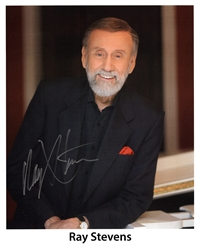 Signed Ray Stevens Photo