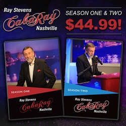 Ray Stevens CabaRay Nashville Season 1 & 2 Combo