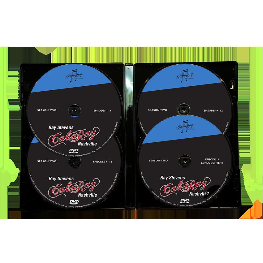 Ray Stevens Cabaray Nashville Season 2 Cab2 Dvd