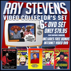 Ray Stevens Video Collectors Set